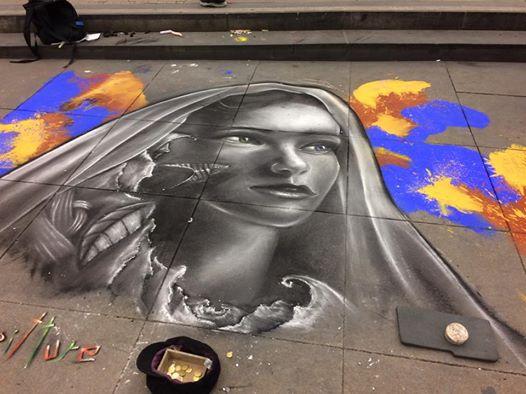 Straßenmalerei Berlin